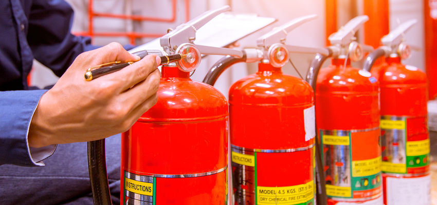 Fire Extinguishers and Servicing